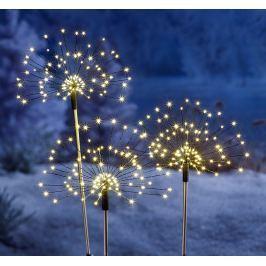 LED Zahradní zápich Magické květy
