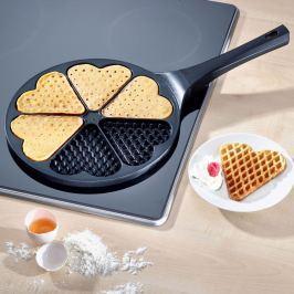 Pánev na waffle - srdce