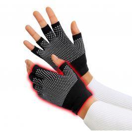 Terapeutické rukavice, černé