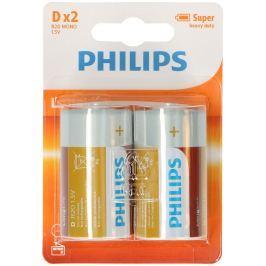 Baterie Philips 1,5 V, R20