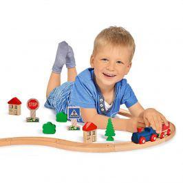 Dřevěná vláčkodráha Eichhorn Hračky a hry