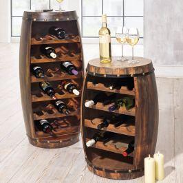 Vinný sud na lahve, 99 cm