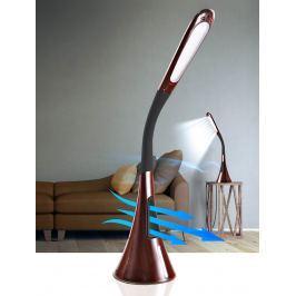 Stolní LED lampa s ventilátorem