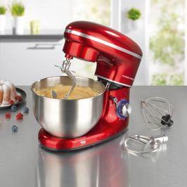 GOURMETmaxx  kuchňský robot 1500 W - červená