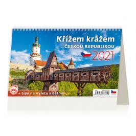 Stolní kalendář - Křížem krážem Českou republikou 2021