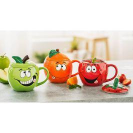 Hrníčky Veselé ovoce, sada 3 ks