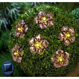 Solární řetěz Flower