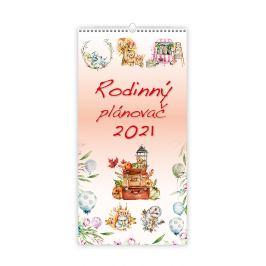 Nástěnný kalendář - Rodinný plánovač 2021