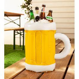 Nafukovací půllitr na chlazení nápojů