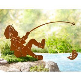 Záhradní zápich Rybář