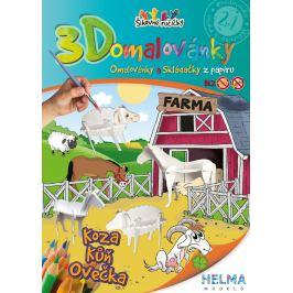 3D Omalovánky - Farma