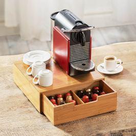 Bambusový box na kávové kapsle Kuchyně & Jídelna