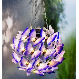 Solární závěsná dekorace Motýli