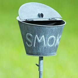 Zahradní popelník Kyblík, šedý