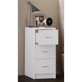 Noční stolek Boxal maxi, bílý