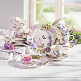 Kávový servis Květinové kouzlo, 18 dílná sada
