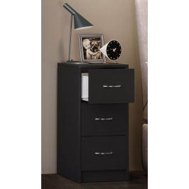 Noční stolek Boxal maxi, černý