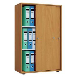 Kancelářská skříň Lona XL, buk