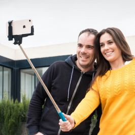 Bluetooth Selfie tyč, černá