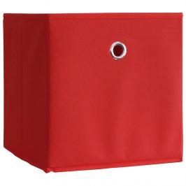 Skládací box červený, 2 kusy