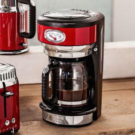 Kávovar RUSSELL HOBBS RETRO, červený