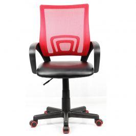 Kancelářská židle Offal, černo-červená