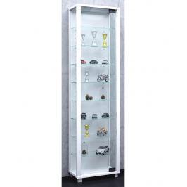 Vitrína Edana Maxi s LED osvětlením, bílá
