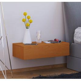 Nástěnný noční stolek Dormas Maxi, buk