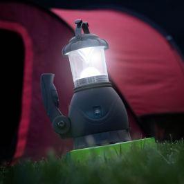 Kempingová lampa 2v1