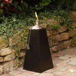 Zahradní olejová lampa Pyramida