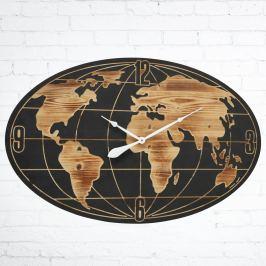 Nástěnné hodiny Svět