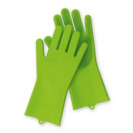 CLEANmaxx Silikonové čistící rukavice, 1 pár