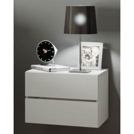 Nástěnný noční stolek Suda, bílá