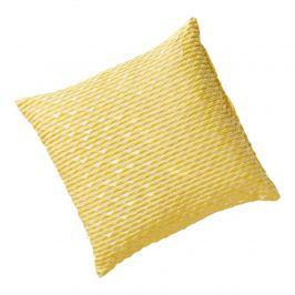 Povlak na polštář Graphit, žlutý