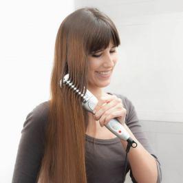 Elektrický žehlicí kartáč na vlasy 25W
