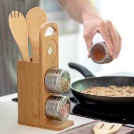 Bambusový set do kuchyně s kořenkami