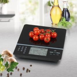 GOURMETmaxx Kuchyňská váha Food Control, černá
