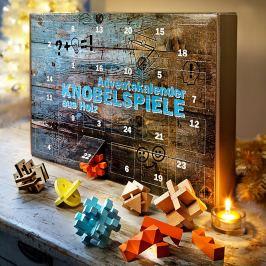 Adventní kalendář Dřevěné hlavolamy