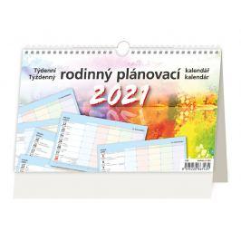 Stolní kalendář - Rodinný plánovací 2021
